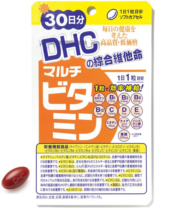 DHC - 綜合維他命  - 30日份(30粒)
