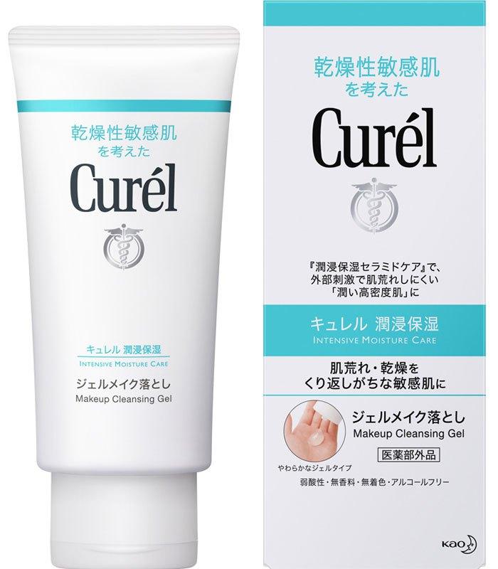 Curel 珂潤 - 潤浸保濕深層卸粧凝露  - 130g