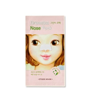 ETUDE HOUSE 愛麗韓 - 玩鼻親綠茶緊緻鼻膜  - 0.2g