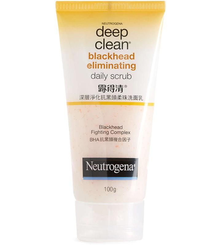 Neutrogena 露得清 - 深層淨化抗黑頭柔珠洗面乳  - 100g