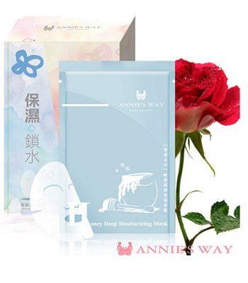 Annie's Way - 法國玫瑰保濕美膚隱形面膜  - 10入