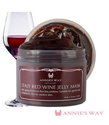 Annie's Way - 義大利紅酒果凍面膜-250ml