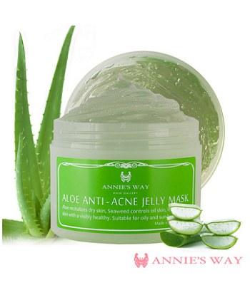 Annie's Way - 蘆薈+海藻鎮定控油果凍面膜  - 250ml
