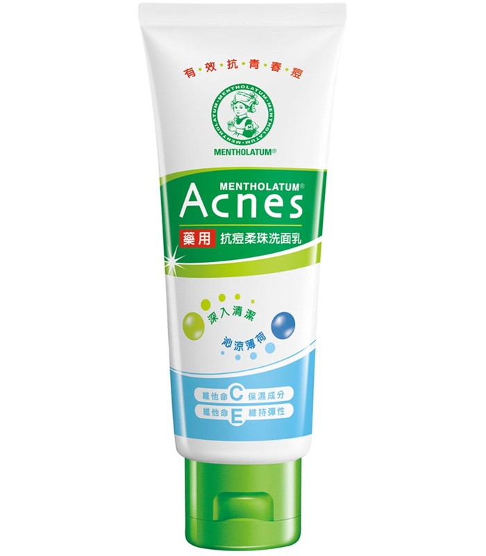 MENTHOLATUM 曼秀雷敦 - Acnes藥用抗痘柔珠洗面乳  - 100g