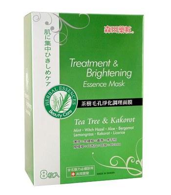 DR. JOU 森田藥粧 - 茶樹毛孔淨化調理面膜  - 8片入