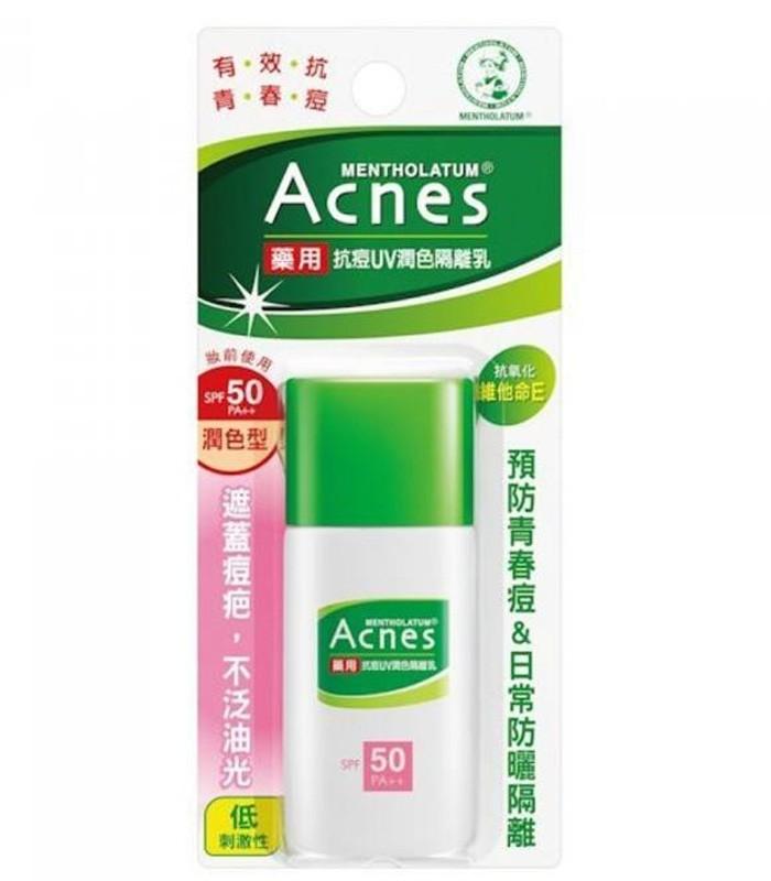MENTHOLATUM 曼秀雷敦 - Acnes抗痘UV潤色隔離乳SPF50 PA++  - 30g
