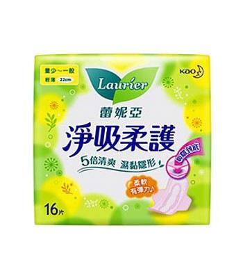 LAURIER 蕾妮亞 - 淨吸柔護 - 16片/包
