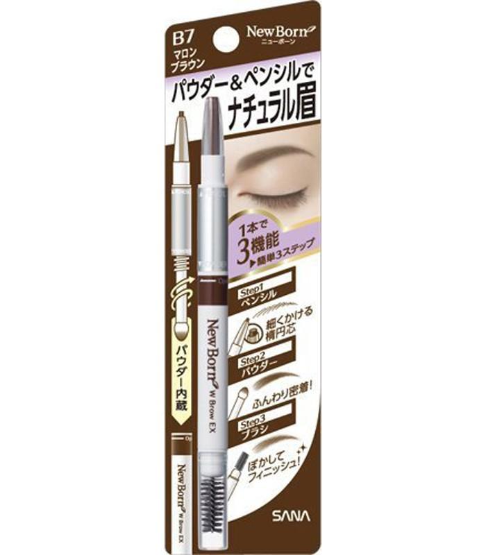 SANA - 柔和三用眉彩筆
