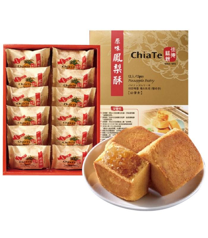 ChiaTe 佳德 - 鳳梨酥12入  - 12入