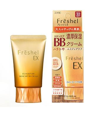 Freshel - 美肌淨透BB霜(極潤)SPF32PA++