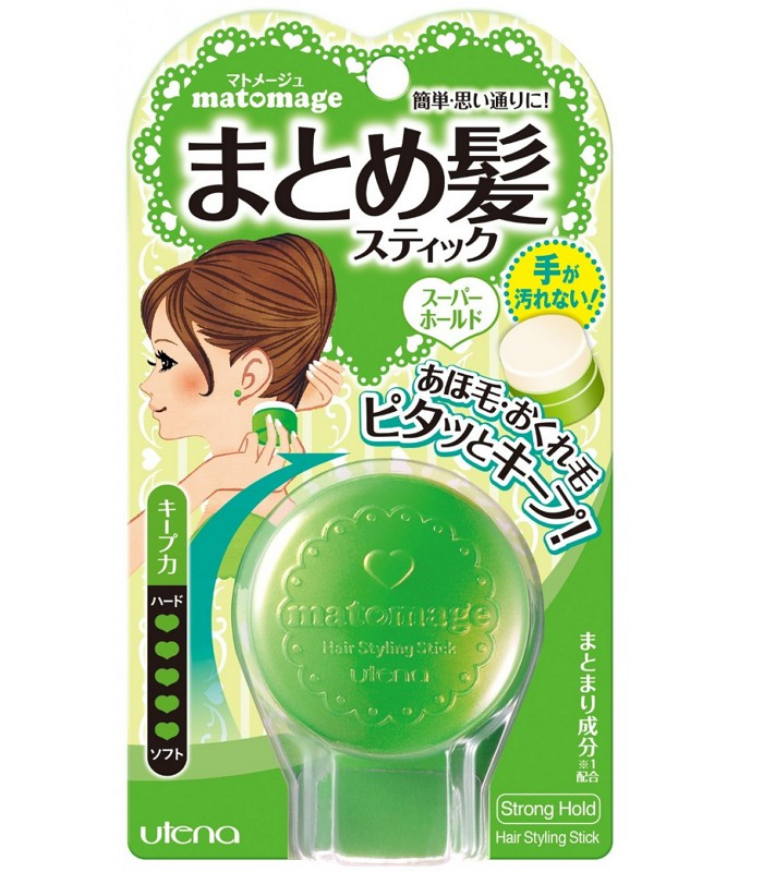 UTENA - 新造型固定髮膏(綠) -適用較硬髮質 - 13g