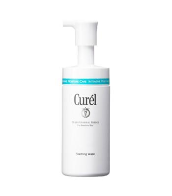 Curel - 潤浸保濕洗顏慕絲-150ml