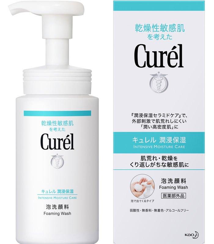 Curel 珂潤 - 豐盈泡沫潔面乳  - 150ml