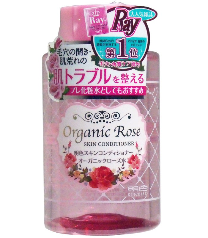 MEISHOKU 明色海斗 - 玫瑰肌膚調理化妝水  - 200ml