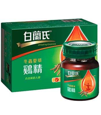 BRAND'S 白蘭氏 - 冬蟲夏草雞精  - 42g*6入裝