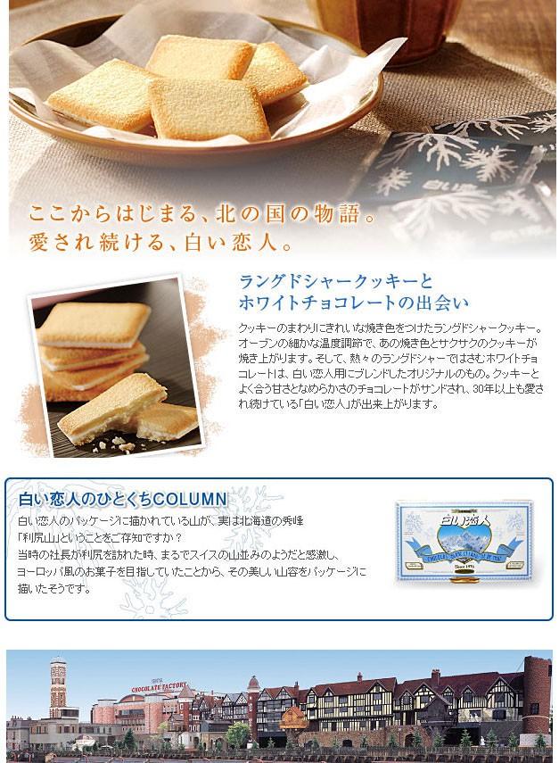 Shiroi Koibito 白色戀人 - 白巧克力餅乾12入  - 12入