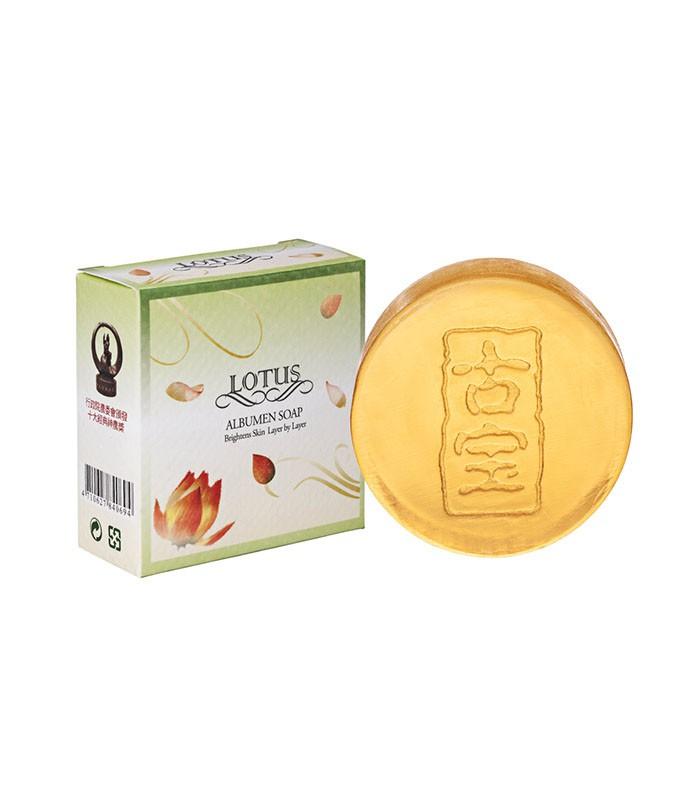 SOAPBERRY 古寶 - 無患子蓮花精華美容皂  - 100g