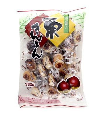 Japanese snacks 日本零食館 - 和風糕餅 - 栗金頓 - 330g