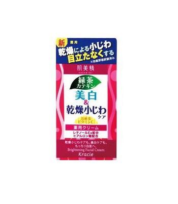 Kracie 葵緹亞 - 肌美精綠茶美白緊緻霜  - 50g
