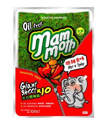異國零食 - mm象泰式烤海苔 - 10入