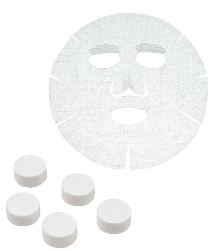 MUJI 無印良品 - 面膜布(全臉用)/壓縮型  - 5入