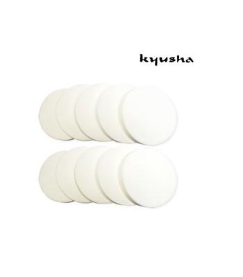 kyusha - 天然化妝海綿(小)-10入