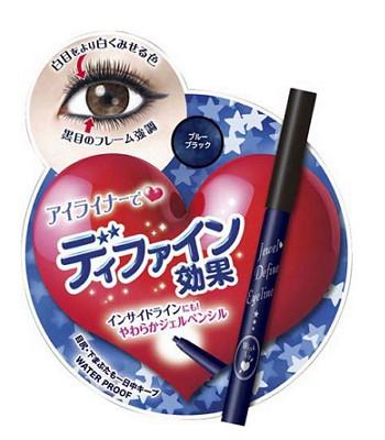NARIS UP - 晶鑽放大眼線筆- 藍黑色-31g