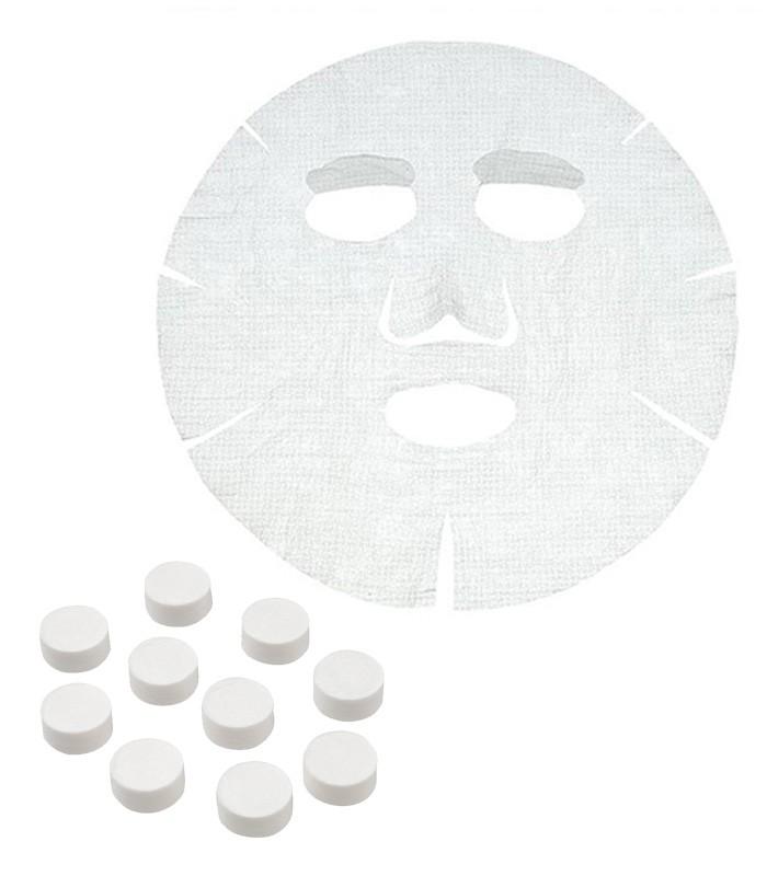MUJI 無印良品 - 面膜布(全臉用)/壓縮型  - 20入