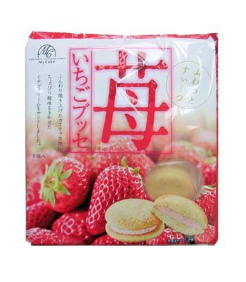 My Cake - 草莓蛋糕-8入/150g