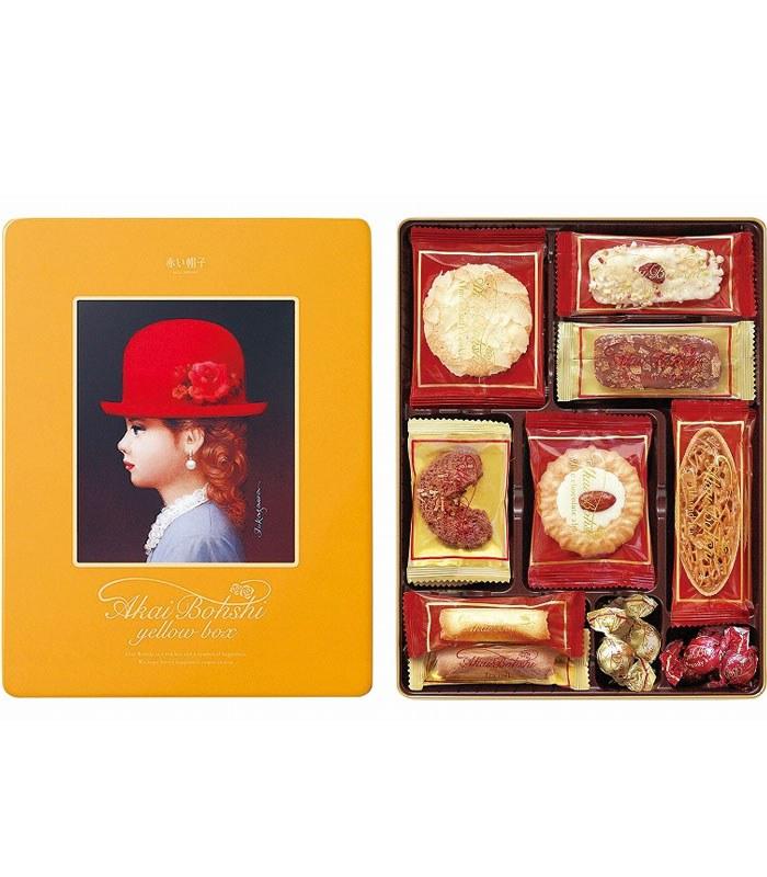 TIVOLINA 日本紅帽子 - 黃帽禮盒 -10種口味 - 140.8g
