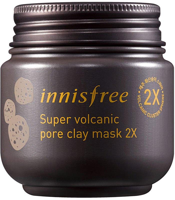 Innisfree 悅詩風吟 - 超級火山泥毛孔潔淨面膜  - 100ml