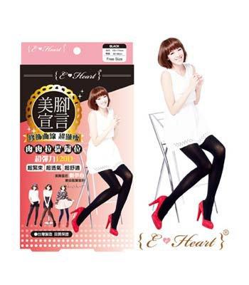 E.Heart - 美腳宣言120D顯瘦褲襪