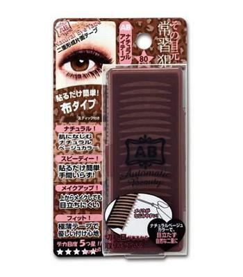 AB 日本 - 上妝專用雙眼皮貼(膚色)  - 80枚