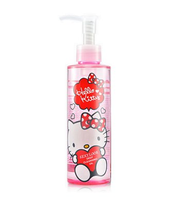 SexyLook - Hello Kitty 無油零負擔卸妝露-200ml