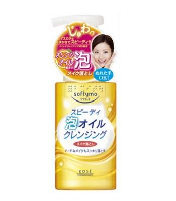 KOSE - softymo 溫和泡沫卸妝油-200ml