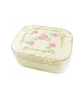 Jill Stuart_Kit 吉麗絲朵_周邊商品 - 玫瑰刺繡緹花珠寶盒  - 1入