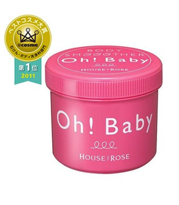 House Of Rose - OH BABY蠶絲精華身體去角質磨砂膏-570g