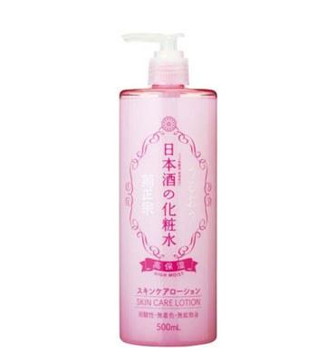 菊正宗 - 高保濕日本酒化妝水 -粉紅 - 500ml