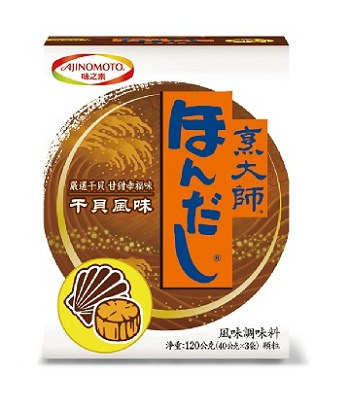 Japanese snacks - 味之素 烹大師干貝風味調味料-120g