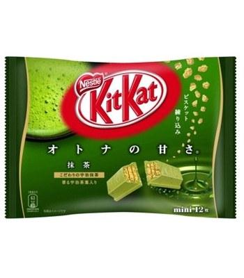 Nestle 雀巢 - KitKat巧克力 - 宇治抹茶 - 13枚