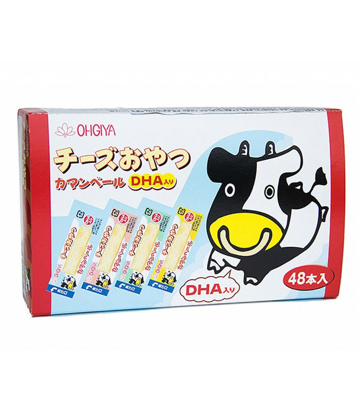 Japanese snacks 日本零食館 - 日本《扇屋》點心起司 -藍色盒 - 134.4g