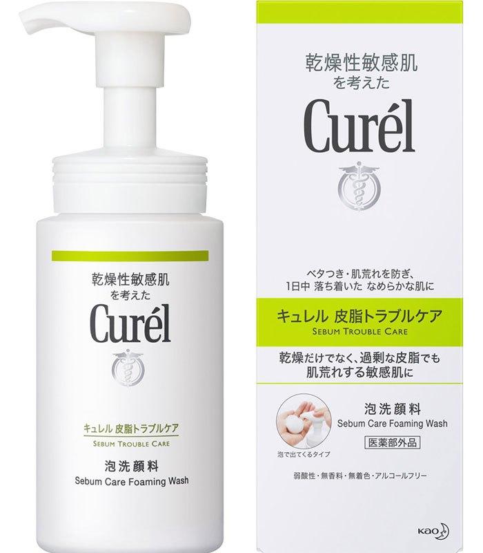 Curel 珂潤 - 控油保濕洗顏慕絲  - 150ml
