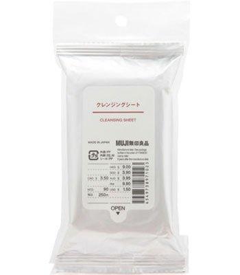MUJI - 攜帶用卸妝巾