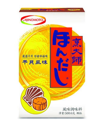 Japanese snacks - 味之素 烹大師干貝風味調味料-500g