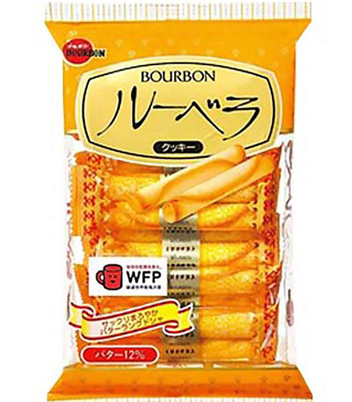 Bourbon 北日本 - 奶油風味蛋捲  - 52g