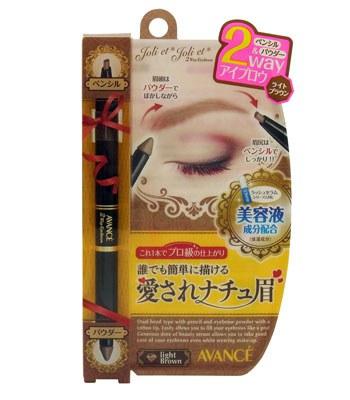 AVANCE - 2WAY濃密雙效亮澤修護眉筆