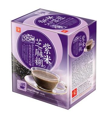3點1刻 - 紫米芝麻糊  - 5包/盒