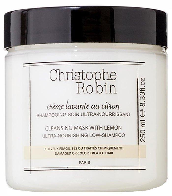 CHRISTOPHE ROBIN - 檸檬護色頭髮潔淨霜  - 250ml