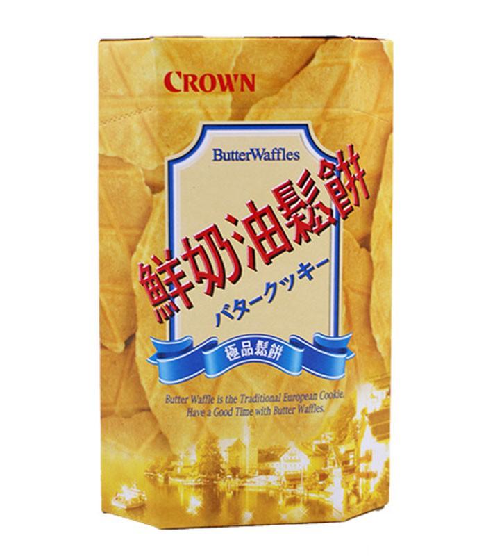 異國零食 - CROWN 鮮奶油鬆餅  - 142g