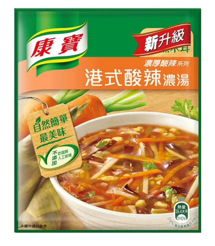 knorr 康寶 - 新港式酸辣濃湯(2入)  - 1組